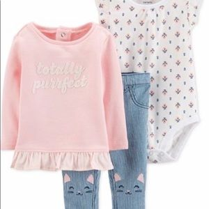 Carter's 3-piece outfit